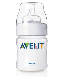 Bình sữa Avent classic 125ml chống đầy hơi cho trẻ sơ sinh