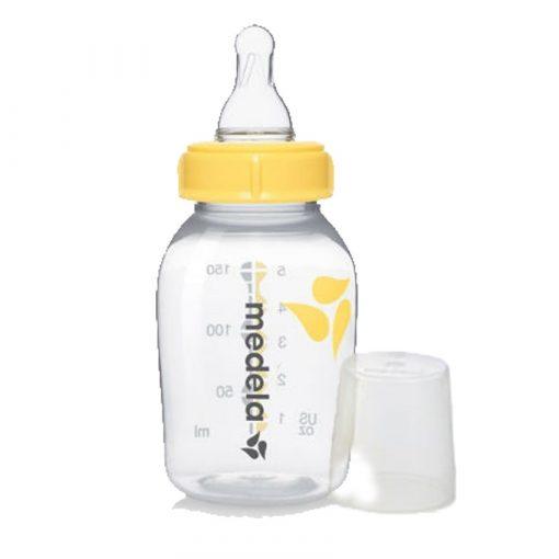 Bình sữa Medela 150 ml - ty mềm nhất cho trẻ sơ sinh