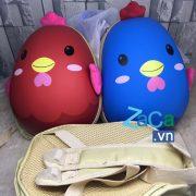 Balo con gà đi học cho bé