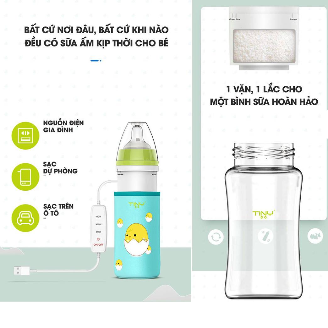 Phân phối bình pha sữa tiny tại HCM