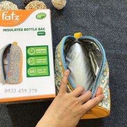 Túi Giữ Nhiệt 2 tiếng 1 bình sữa Fatz Hàn Quốc, giữ Nóng/Lạnh